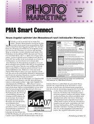 PMA Smart Connect (Fortsetzung von Seite 1)