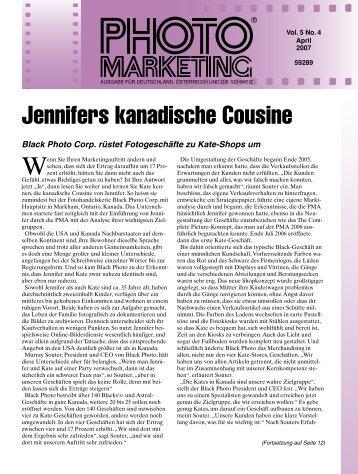 Jennifers kanadische Cousine (Fortsetzung von Seite 1)