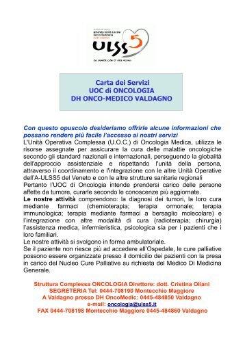 protocollo accoglienza - 2012 - ULSS5