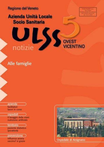 Anno 2005 - Numero 3 - ULSS5