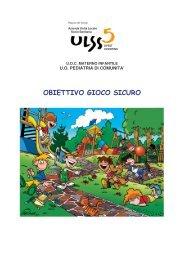 OBIETTIVO GIOCO SICURO - ULSS5