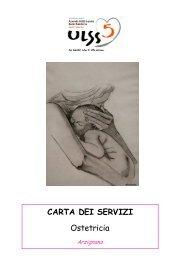 Carta dei Servizi Ostetricia - ULSS5