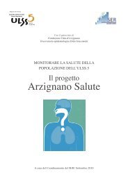 Progetto Arzignano Salute - ULSS5