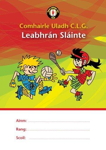 Leabhrán Sláinte - Ulster GAA