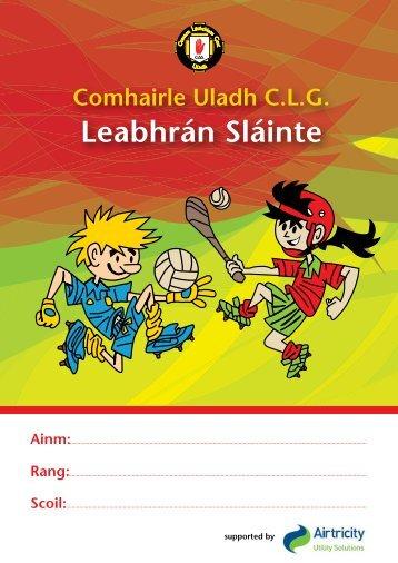 Comhairle Uladh C.L.G. Leabhrán Sláinte - Ulster GAA