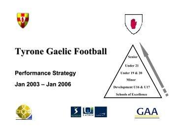Tyrone - Ulster GAA