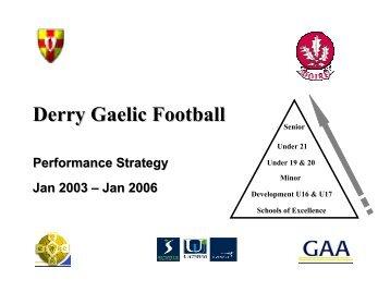 Derry - Ulster GAA