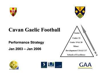 Cavan - Ulster GAA