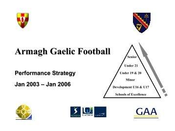 Armagh - Ulster GAA