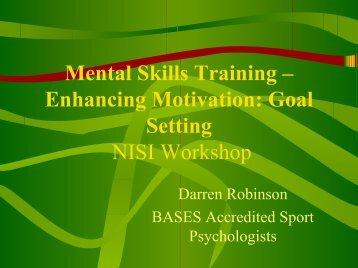 Goal Setting Seminar - Ulster GAA