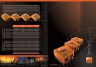 The complete suite of professional lighting software