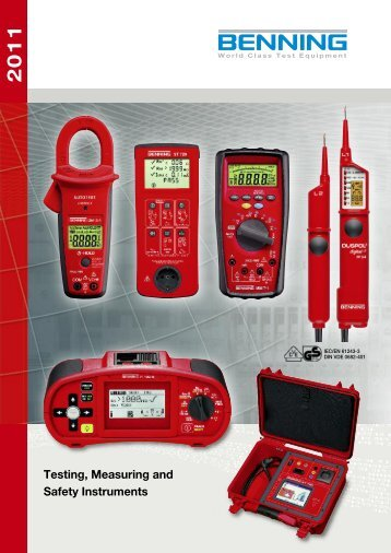 Testing, Measuring and Safety Instruments