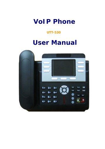 VoIP Phone User Manual - Ultrative