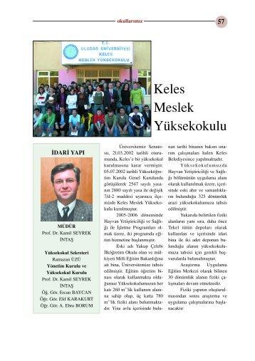Keles Meslek Yüksekokulu