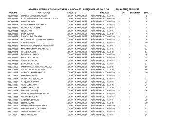 atatürk ilkeleri ve devrim tarihi - 10 ocak 2013 perşembe -12:00-12 ...