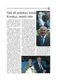 Tatlı dil politikası üstadı Korukçu emekli oldu