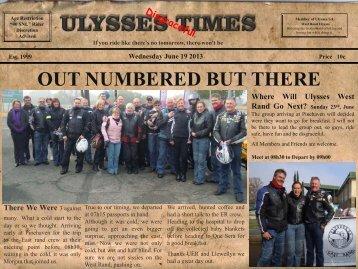 Ulysses Times 25 - 19 June 2013 - Ulysses SA