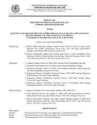 DEPARTEMEN PENDIDIKAN NASIONAL - Universitas Negeri Malang