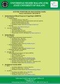 Brosur UM 2012 - Universitas Negeri Malang - Page 2
