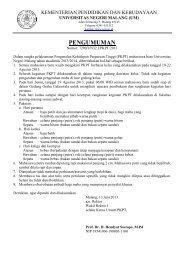 Klik - Universitas Negeri Malang