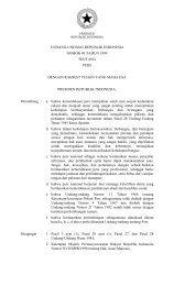 Undang-Undang Nomor 40 Tahun 1999