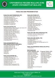 leaflet brosur um 2013.cdr - Universitas Negeri Malang