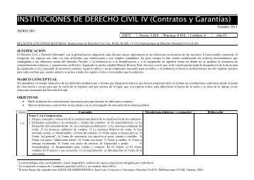 10072-Instituciones de Derecho Civil IV (Contratos y Garantías).