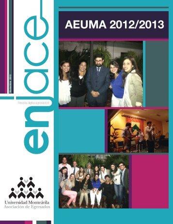 AEUMA 2012/2013 - Universidad Monteávila
