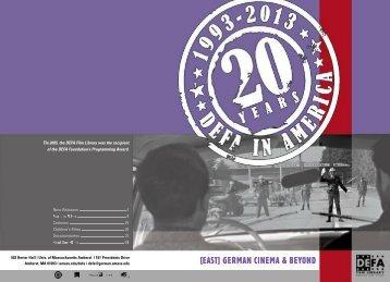 Catalog 2013 - University of Massachusetts Amherst