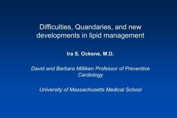 Difficulties, Quandaries, and new developments in lipid management