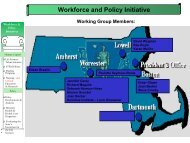 Workforce and Policy Initiative