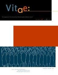 Fall/Winter 2000 Vol. 23 No. 1 - the University of Massachusetts ...