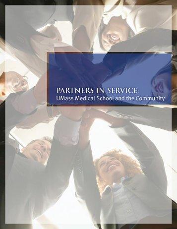 Partners in service: - University of Massachusetts Medical School