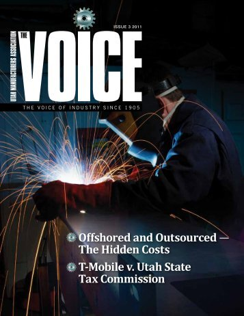 Offshored and Outsourced - Utah Manufacturers Association
