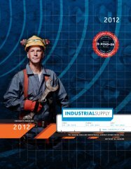 Industrial Supply 2012 Products Catalog