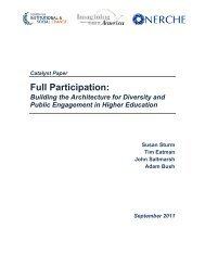 Full Participation: - University of Massachusetts Boston