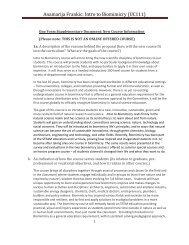 Intro to Biomimicry - University of Massachusetts Boston