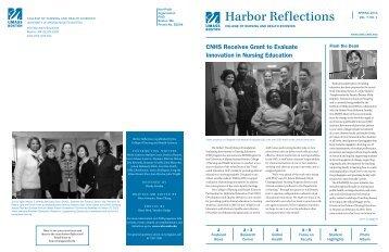 Harbor Reflections - University of Massachusetts Boston