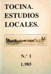 Tocina Estudios Locales Nº1