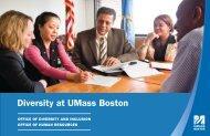 Diversity at UMass Boston - University of Massachusetts Boston