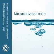 Miljøhandlingsplan 2012 - UMB