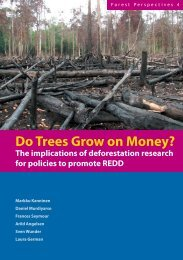 Do trees grow on money? The implications of deforestation ... - UMB