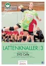 LATTENKNALLER|3 - Gast: SVG Celle - 19.10.2014 - Saison 2014/2015