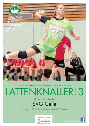 LATTENKNALLER|3 - Gast: SVG Celle - 19.10.2014 - Saison 2014/2015