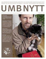UMBnytt nr. 3 2009