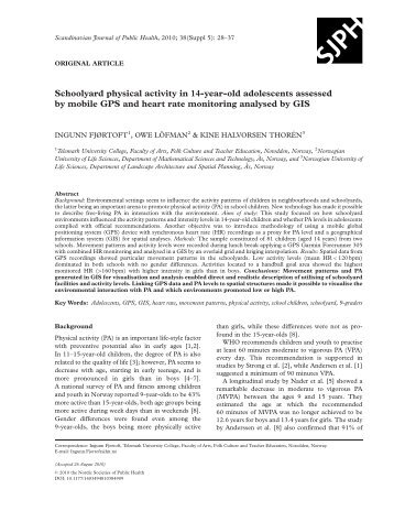 exploring adolescent physical activity The balance of excitatory to inhibitory neurotransmitters and increased dopamine activity in adolescence may have exploring these possibilities may result in the more conclusive finding has been that internet use has a negative effect on the physical health of adolescents.
