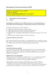 de nye retningslinjene for kommersialisering - UMB