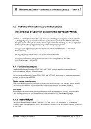 honorarsatser – sentrale styringsorgan - kap. 4.7 - UMB