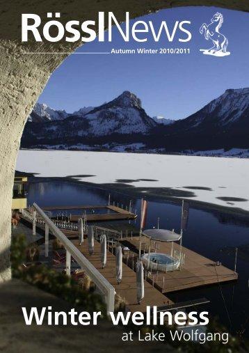 at Lake Wolfgang
