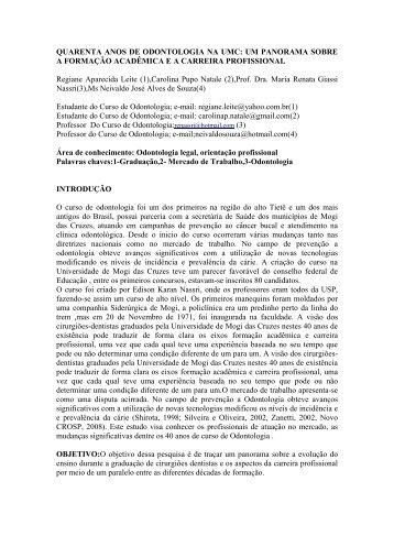 Regiane Aparecida Leite - UMC